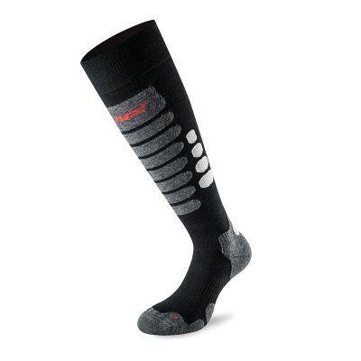 LENZ 3.0 Socken Schwarz/Grau