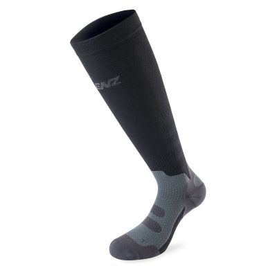 LENZ Compression 1.0 Socken Dunkelgrau