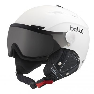 BOLLE Blackline Visor Premium Helm weiss
