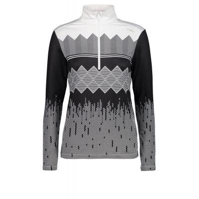 CAMPAGNOLO Damen Sweatshirt Grau Print