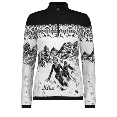 CAMPAGNOLO Damen Knitted Sweater Print