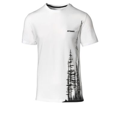 ATOMIC Alps Maverick T-Shirt White