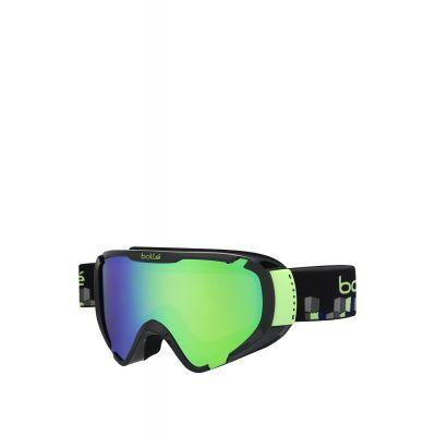 BOLLE Explorer Shiny Black Cubes Skibrille