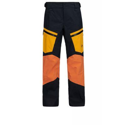 PEAK PERFORMANCE Gravity Hose Herren Orange/Gelb