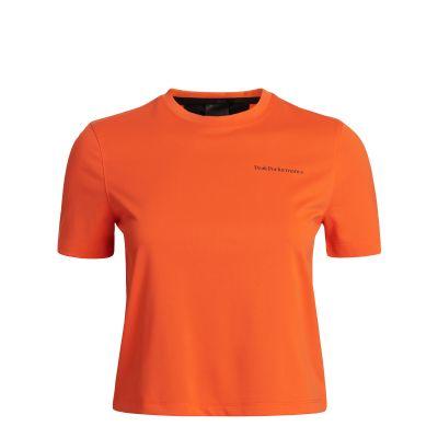 PEAK PERFORMANCE Damen Alum Ligth Short Sleeve Orange