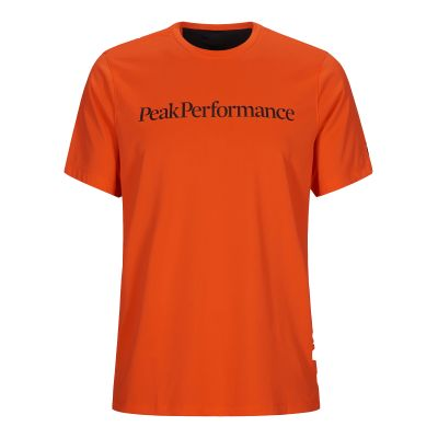 PEAK PERFORMANCE Herren Alum Light Short Sleeve Orange
