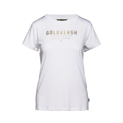 GOLDBERGH Daisy Sleeve Top Weiß