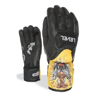 Junior Racing Glove SQ CF schwarz