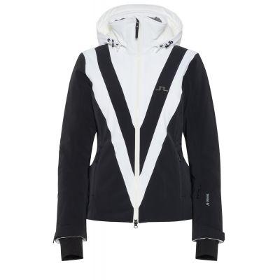 J.LINDEBERG Damen Wrangell Jacke 2L schwarz/weiß