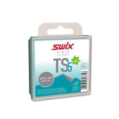 SWIX TS5  Türkis Wachs TS05-4