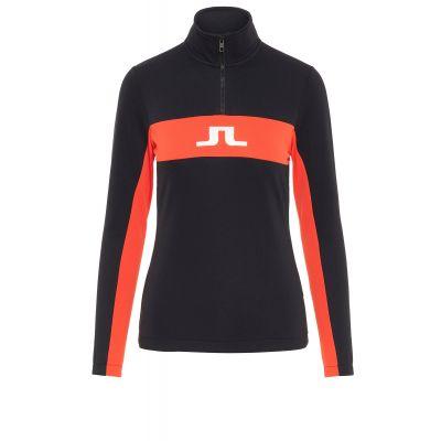 J.LINDEBERG Damen Kimball Star Mid Shirt Field